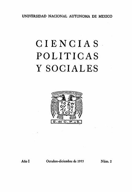 ORIGEN, ORGANIZACION, FINALIDADES Y PERSPECTIVAS DE LA ESCUELA NACIONAL DE CIENCIAS POLITICAS Y SOCIALES