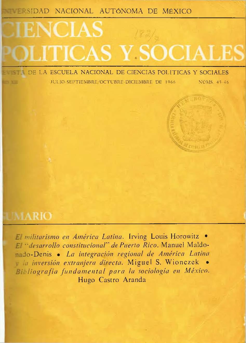 El Militarismo En América Latina