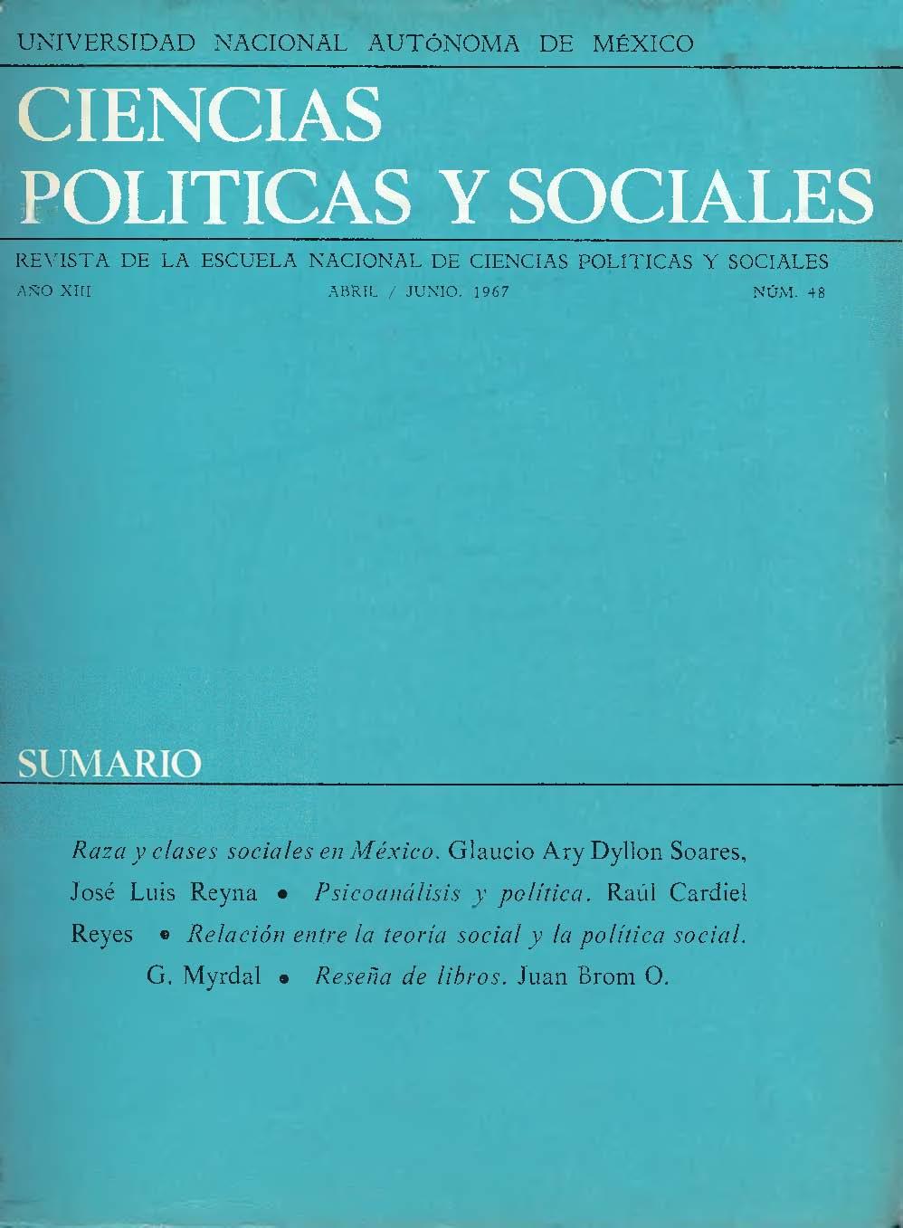 Raza Y Clases Sociales En México