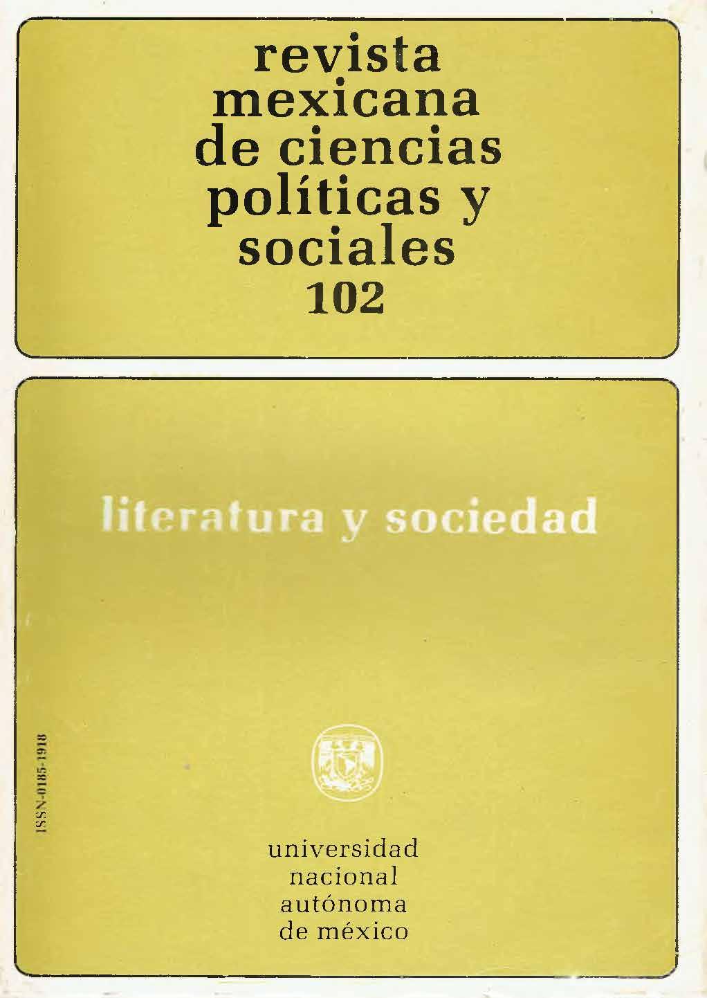 Los escritores y la sociedad literatura y sociedad: por el camino del método: tres posiciones