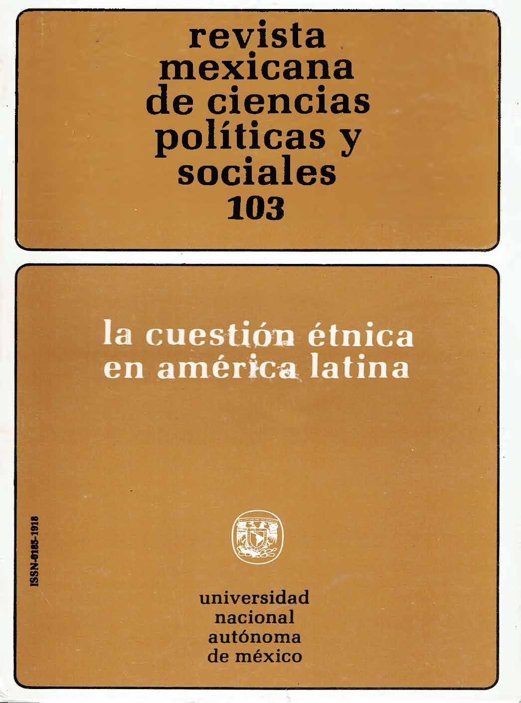 Introducción la cuestión étnica en américa latina
