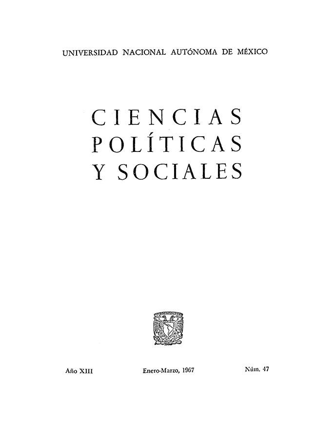 Estudios Estadísticos Sobre La Escuela Nacional De Ciencias Políticas Y Sociales